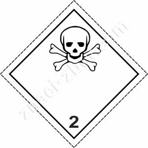 ADR - клас 2.3 - Отровни газове
