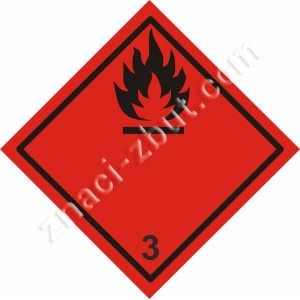 ADR - Клас 3 - Запалими течности