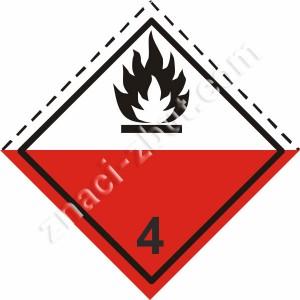 ADR - клас 4.2 - Вещества склонни към самозапалване