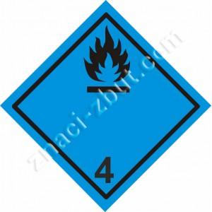 ADR - клас 4.3 - Вещества, които при контакт с вода отделят запалими газове