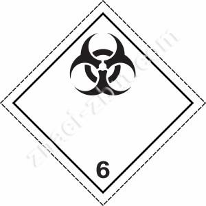 ADR -  клас 6.2 - Вещества, причиняващи инфекции