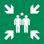 Авариен изход/път за евакуация