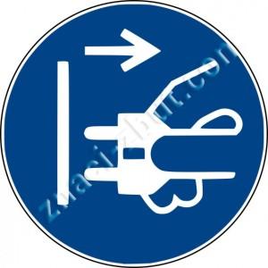 Изключете захранващия кабел от електрическия контакт
