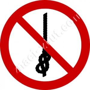 Забранено завързването на възли