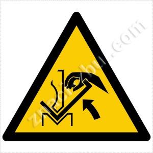 Опасност от нараняване на ръцете при работа с преса