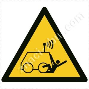 Опасност от дистанционно управляеми машини