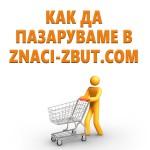 Упътване за пазаруване в магазина